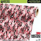 MINI PINK Camouflage Vinyl Vehicle Car Wrap Camo Film Sheet Roll Adhesive
