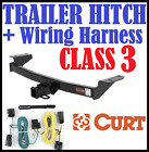 Curt Trailer Hitch & Vehicle Wiring Harness Fits 09-14 Ford F-150 13368 59146