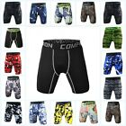 Men's Compression Jogger Base Layer Shorts Fitness Athletic Tights Sport Pants