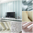 New DIY 10M Simple Vertical Stripe Home Embossed Textured Lines Wall&paper Roll