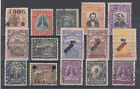 Salvador Sc 331//506 used 1906-1925 issues, 15 better used singles, F-VF