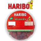 HARIBO GIANT STRAWBS TUB LARGE TUB RETRO SWEETS WEDDING CART PARTY FILLERS KIDS