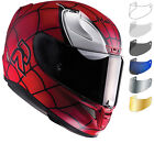 HJC RPHA 11 Spiderman Motorbike Helmet & Visor Limited Edition Marvel ACU Gold