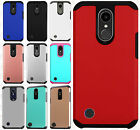 For LG K20 Plus HARD Astronoot Hybrid Rubber Silicone Case Cover +Screen Guard