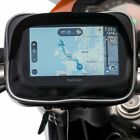 Motorcycle Handlebar Helix Strap Mount + Case for Garmin Nuvi and Drive Series