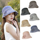Women Lady Casual Summer Beach Sun Bucket Hats Bohemia Cap Fashion Travel