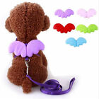 New Training Dog Pet Puppy Cat Adjustable Angel Harness Lead Traction Rope DB S
