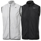 *NEW 2017* MIZUNO WINDPROOF FULL ZIP VEST (52GE7001) (VARIOUS COLOURS & SIZES)