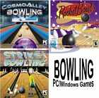 Bowling Games Assortment PC Windows XP Vista 7 8 10 Sealed New