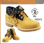 TIMBERLAND BOOTS AF ROLL TOP MENS LEATHER NUBUCK WHEAT WALKING SHOES UK 7.5 9.5