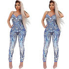 2017 Hollow Out Body con Sexy Cross Halter Bandage Slim Club Jumpsuit