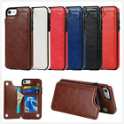 Luxury Leather Like Card Holder Stand Back Cover Case For Apple iPhone7 6S Plus