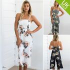 Women Clubwear Summer Sleeveless Loose Party Jumpsuit Playsuit Beach Trouser