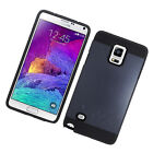 For Samsung Galaxy Note 4 Hybrid Rugged Case Dual Layer Cover Hard TPU Armor