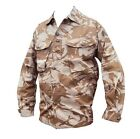 DESERT CAMOUFLAGE TROPICAL SHIRT - British Army - Small - CADET - Genuine Issue