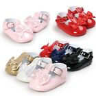 Newborn Baby Girl Bow Anti-slip Crib Shoes Soft Sole Sneakers Prewalker 0-18M US