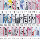 For Samsung Pictorial TPU Back Beautiful Case+Plastic Frame 2 in 1 Builder Cover