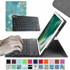 """Bluetooth Keyboard Slim PU Leather Stand Cover Case for New iPad 5th 9.7"""" 2017"""
