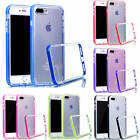 For iPhone Samsung Classic Simple TPU Plastic Clear Bumper Protector Case Cover