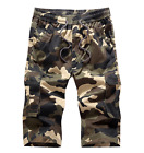 Man camouflage leisure loose big yards of 7 minutes of pants overalls shorts