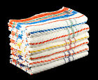 Cheap and Cheerful Bath and Hand Towels Set 100% Cotton Multicoloured Striped