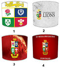 British and Irish Lions Rugby Union Tour Designs Lampshades (Come On The Lions).