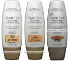 L'OREAL Visible Lift EXTRA COVERAGE Line Minimizing FOUNDATION *YOU CHOOSE* New