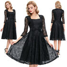 Formal Women Sexy Short LACE Evening Party Cocktail Wedding Ball Gown Prom Dress