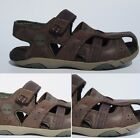 Childrens Boys Kids Brown Leather Timberland Sandals Holiday Casual Size 11.5