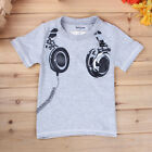 1-7Y Baby Kids Boy Superhero Costume Short Sleeve T-Shirt Summer Casual Tee Tops