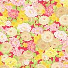 MANDALAY BREEZE PINK ORIENTAL FLORAL ANDOVER QUILT SEWING FABRIC Free Oz Post
