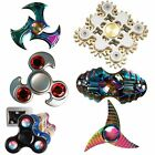 Tri Fidget Hand Spinner EDC Glowing Ceramic Ball For Kids/Adults Desk Focus Toy