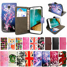 Premium Leather Wallet Flip Magnetic Stand Case Cover For Vodafone Smart Phones
