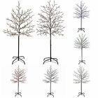 Pre-Lit 200 LED Illuminated Cherry Blossom Tree 5ft White Pink Blue Red Multi