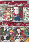 U CHOOSE  Assorted Paper Bliss CHRISTMAS & WINTER 3D Stickers santa trees toys