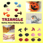 30 pc 6mm to 11mm Triangle Plastic Safety Noses, Buttons, Eyes  teddy bears TN-1