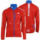 adidas Damen Gore Athleten Jacke Outdoor Russia Biathlon Running Wintersport