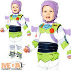Buzz Lightyear Infants Fancy Dress Disney Toy Story Baby Boys Toddlers Costume