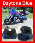 Daytona Blue Pearl Lower Vented Fairing for 14-17 Harley Electra Road Street