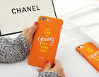 Hard Matte Plastic Ultra Thin Orange BackCase Cover For Apple Iphone6 6s 7 7plus