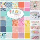 MODA Early Bird 100 % cotton charm pack jelly roll layer cake mini charm