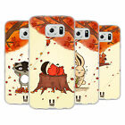 HEAD CASE DESIGNS AUTUMN CRITTERS SOFT GEL CASE FOR SAMSUNG PHONES 1