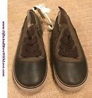 Baby Gap NWT Brown FAUX LACE SIDE ZIP ATHLETIC SNEAKER DRESS SHOES US 11
