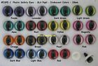 2 PAIR Safety Eyes Slit Pupils 16mm to 21m Iridescent Color Dragon, Cat  ISPE-1
