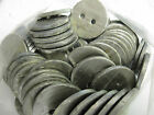 HEAVY Lead Penny Curtain Weights Sewing - 21g sew in hem weight 32mm Diameter