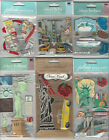 U CHOOSE  Assorted Jolee's Recollections Paper House NEW YORK 3D Stickers