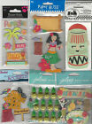 U CHOOSE  Assorted Jolee's Paper Bliss Sandylion HAWAII travel 3D Stickers hula