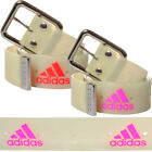 Mens Adidas Neon Metal Buckle Belt Unisex One Size
