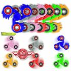 UK SONIC FIDGET FINGER HAND FOCUS STRESS RELIEF TOY SPIN SPINNER METAL BEARING