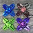 Colorful EDC Four Sides Fidget Hand Spinner Torqbar Focus ADHD Autism Toy 97k